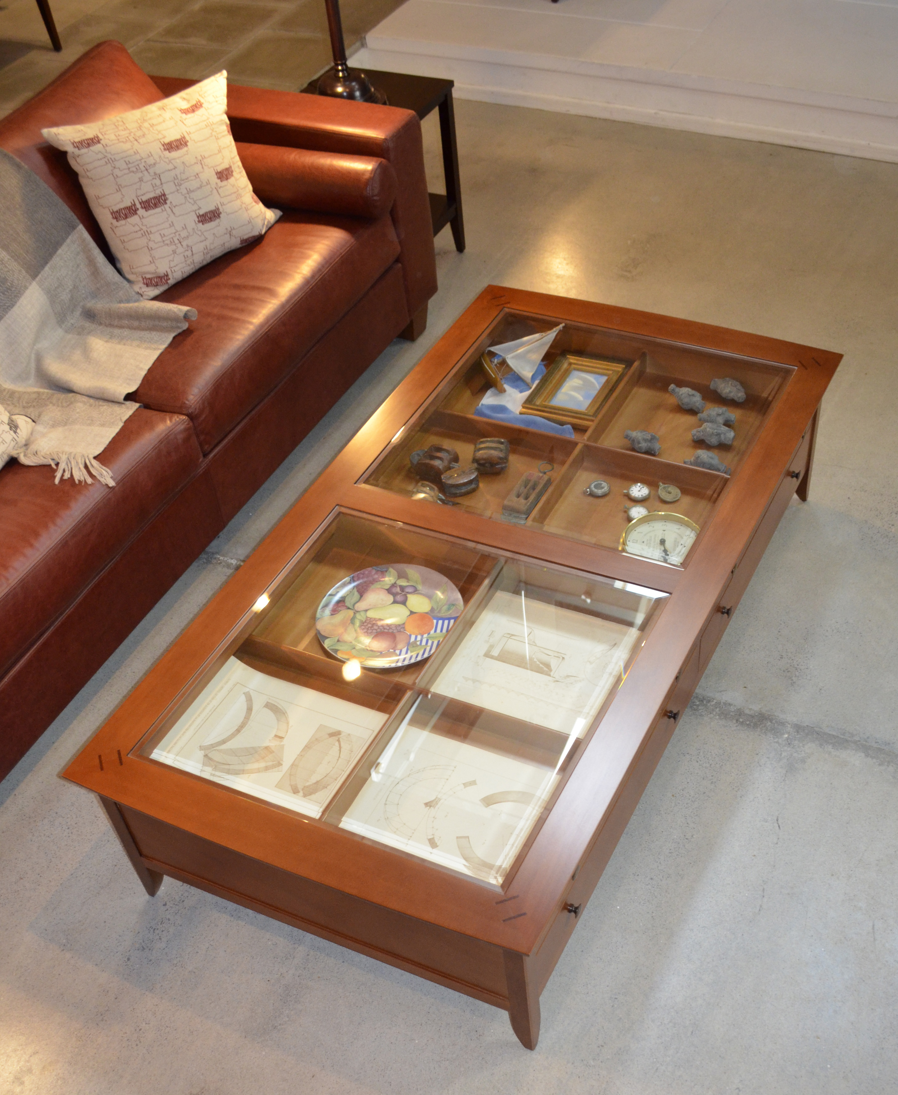 Tumblehome Coffee Table Double Size L178 Rose Heather
